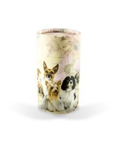 Aero - Urne dispersion animaux tube motif chiens