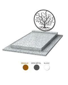 Stèle Arbre de vie & granit