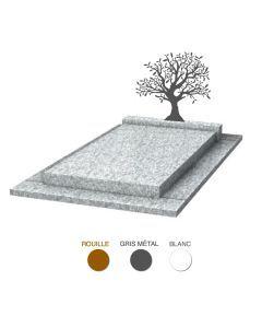 Stèle olivier & granit