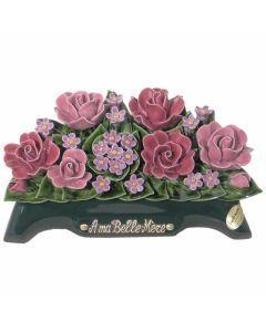 Arceau boutons de roses fleurettes