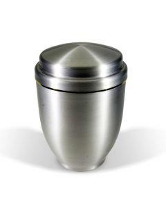 Brila - Urne aluminium argenté