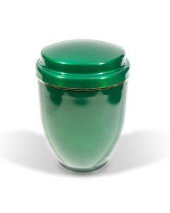 Brila - Urne aluminium vert