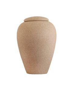 Curvo - Urne soluble couleur sable