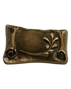 Hartie - Urne parchemin en bronze