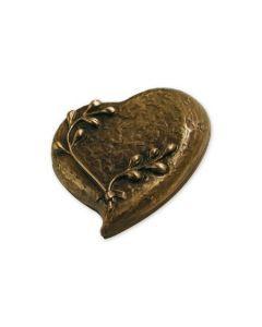 Kaab - Urne coeur en bronze