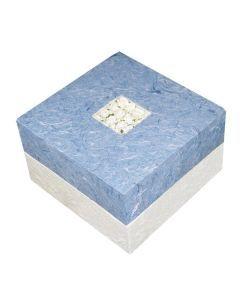Kalma - Urne bio boite bleu pastel
