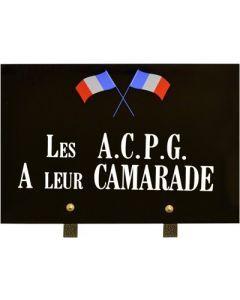 Plaque association A.C.P.G