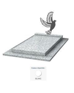 Monument moderne Colombe & granit