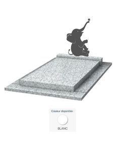 Monument enfant Éléphant & granit