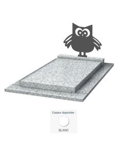Monument enfant Hibou & granit