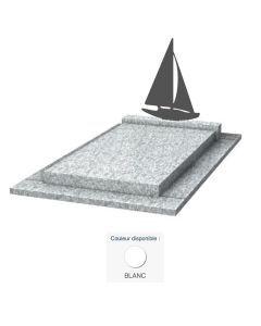 Monument moderne Voilier & granit