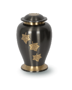 Urne bronze avec empiècement