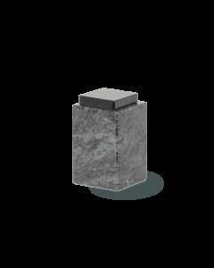 Urne granit avec capuchon