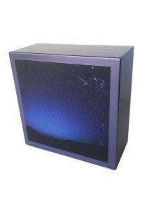 Zenla Parme - Urne inox motif ciel étoilé