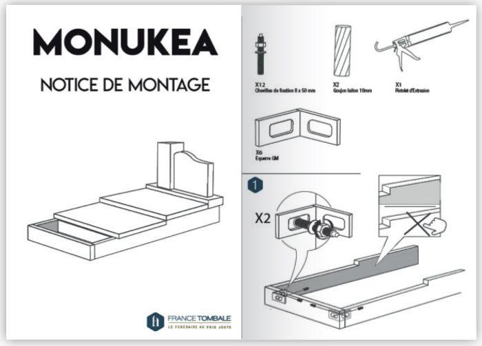 notice de montage monukea